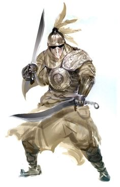 See, there's fantasy that's so impractical and ugly that I can't enjoy it. Then there's fantasy that's awesome as hell even if it's not totally practical. Fantasy Male, Fantasy Armor, Medieval Fantasy, Fantasy Character Design, Character Concept, Character Art, Dnd Characters, Fantasy Characters, Fantasy Inspiration