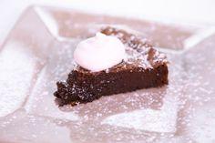 the chew- Carla Hall's Flourless Hazelnut Chocolate Cake
