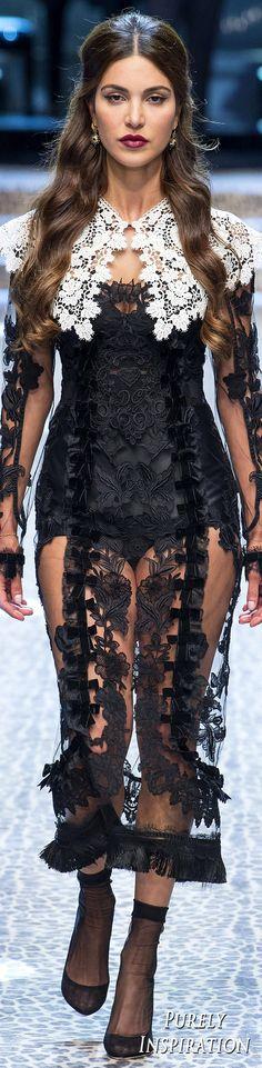 Dolce & Gabbana FW2017 Women's Fashion RTW   Purely Inspiration