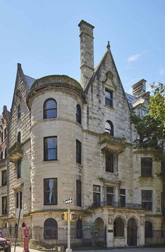 Untouched Gilded Age Mansion For Sale in New York City - Carroll Mansion Riverside Drive Photos Riverside Drive, Riverside Park, Abandoned Houses, Old Houses, Nice Houses, Wood Staircase, Ceiling Detail, Mansions For Sale, Arched Windows