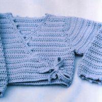 Un joli cache-coeur, idéal pour mettre sur une tenue de fête. Crochet : N°3 Points : Maille serrée Bride  Télécharger le Cache-Coeur