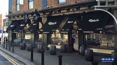 Awnings for The Bleeding Horse in Dublin by The Awning Company
