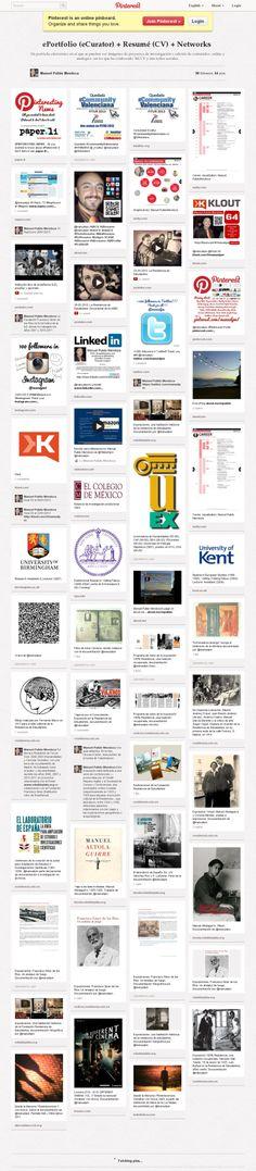 @manuelpm #ePortfolio in #Pinterest