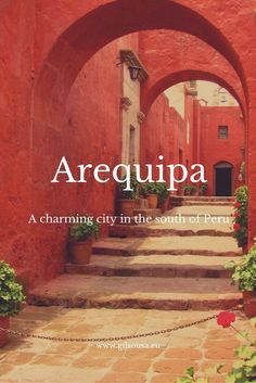 #Arequipa, the charming city in the south of #Peru