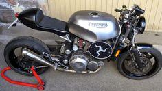 My Bike - RocketGarage - Cafe Racer Magazine Triumph Trophy 900, Triumph 900, Triumph Triple, Triumph Sprint, Triumph Cafe Racer, Triumph Street Triple, Triumph Scrambler, Cafe Racers, T 300