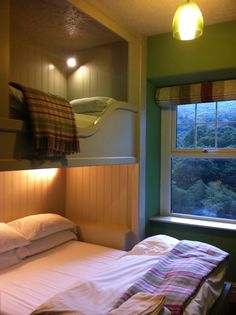 Beautiful interiors, superb facilities and the stunning lush green landscape of Snowdonia make Plas Curig one of Europe's best hostels Snowdonia, England And Scotland, Green Landscape, Lush Green, Hostel, Beautiful Interiors, Cornwall, Bunk Beds, Wales