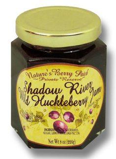 Shadow River Wild Huckleberry Gourmet Jam 8 oz Jar - http://www.yourgourmetgifts.com/shadow-river-wild-huckleberry-gourmet-jam-8-oz-jar/