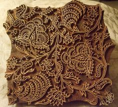 Wood Print Block by FernShade (away for a while...back ASAP), via Flickr