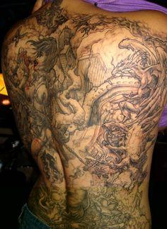 Celebrity Tattoos: Best Full Sleeve Tattoos Designs For Men Ideas
