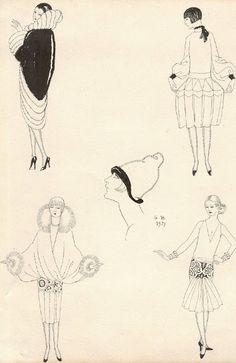 George Barbier: 1920's Haute Couture Artist