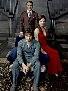 Hannibal...oh look! It's the awkward threesome again!!!