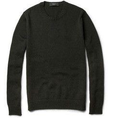 Slowear Zanone Wool-Blend Crew Neck Sweater | MR PORTER