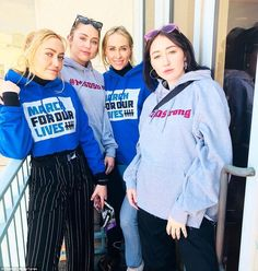 Miley Cyrus, George Clooney and Other Stars Join March for Our Lives Protests: Celebs such as… Hannah Montana, Miley Cyrus, Marie Claire, Multimedia, Hannah Miley, Happy Hippie Foundation, Noah Cyrus, Editorial, People