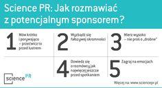 Science PR: Jak rozmawiać ze sponsorem?
