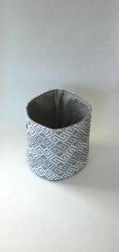 Medium Fabric Storage Bucket - Zalktis Stone Latvia, Northern Europe #NorthernEurope #Latvia