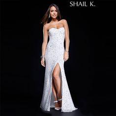 SHAIL K KK3133L IVORY/SILVER $ 350.00