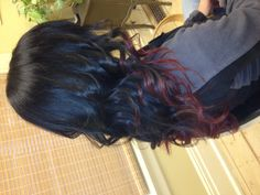 Black and red ombre - my next hair style!!!