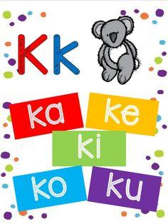 2nd Grade Activities, Kids Learning Activities, Toddler Activities, Worksheets, Alphabet, Homeschool, Education, Carrera, Literacy Activities