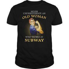 SubWay T-Shirts, Hoodies. SHOPPING NOW ==► https://www.sunfrog.com/Names/SubWay-Black-Guys.html?id=41382