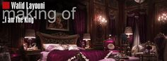 I am the King - Making of luxury bedroom - Evermotion.org