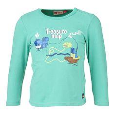 """Duplo Langarm-T-Shirt """"Treasure Map"""" Shirt    LEGO® Wear hat längst nicht nur die Spielzeugkisten, sondern auch die Kleiderschränke erobert. Dieses niedliche Langarm-T-Shirt ist das richtige für aktive Kids. Das weiche Material macht nicht nur auf dem Spieplatz eine gute Figur.    LEGO® Wear Kinder T-Shirt mit folgenden Besonderheiten:    - Thema: LEGO® Duplo®  - schönes Langarm-T-Shirt für Jun..."""