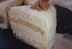 Sastojci:  – 9 bjelanjaka  – 15 zlica secera  – 3 zlica krusnih mrvica  – 30 dkg kokosa + malo za posuti za ukras  – 1,5 litra mlijeka + c...