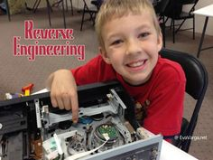 Great idea for hands-on science or STEM Club: Reverse Engineering - Eva Varga Basically you get some old electronics and let the kids take them apart.