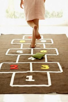 The Aussie and the Owl: Monday's Matter: 10 Commandment Hopscotch