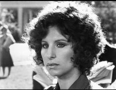 """Barbra Streisand as """"Katie Morosky"""" in the 1973 film, The Way We Were.  Passionate character and I can watch this movie over and over..."""