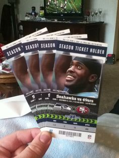 Prize Pin: Seahawks Tickets. Premera Pin to Win. Last years game against the 49ers that got switched to Sunday Night Football, such a fun game!!