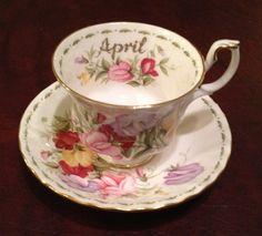 Royal Albert April Sweet Pea