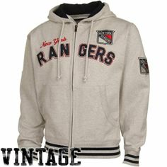 Old Time Hockey New York Rangers hockey sweater -  Loving the vintage look with the old time logos!