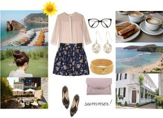 """summer!"" by emc1397 ❤ liked on Polyvore"