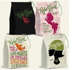 Rebel Green #madeinUSA lunch bags