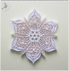 - Quilled by: Quilling Boszi More Mehr Neli Quilling, Origami And Quilling, Quilling Paper Craft, Paper Crafts, Quilling Ideas, Paper Quilling Tutorial, Paper Quilling Patterns, Quilling Christmas, Quilled Creations