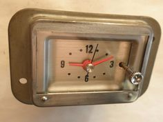1963 Mercury Clock - Serviced and Working with a 30 Day Guarantee + FREE Shipping!!! - $89.88