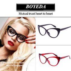 Fashion Cat Eye Glasses Frames Brand Designer Eyeglasses Women Optical Glasses of Cat's Eye Female Spectacle Frame oculos