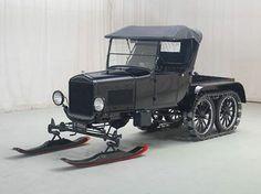 classic snow mobile