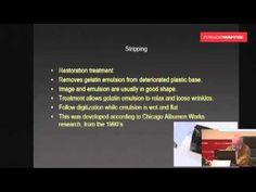 ▶ Conservación y digitalización de colecciones de negativos - Luis Pavao - YouTube