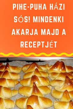 Bread Dough Recipe, Hungarian Recipes, Canapes, Quick Meals, Mashed Potatoes, Bakery, Food And Drink, Gluten Free, Cheese