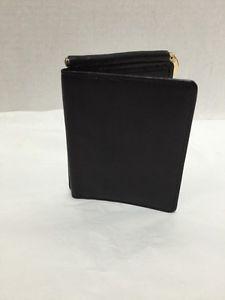 Pelle-Studio-Leather-Bifold-Wallet-Mens-Black-Money-Holder-New-no-tags