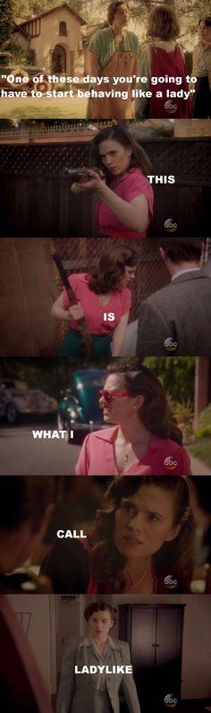 Agent Carter S02E04 - Smoke and Mirrors - Ladylike