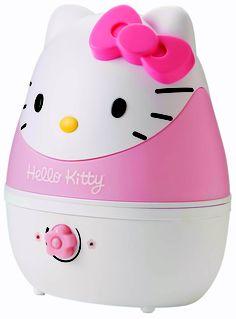 Idéal pour la chambre de bébé, l'humidificateur talassio Hello Kitty.