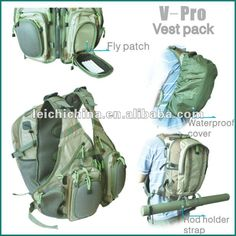 837f11996cc Back Pack Fly Fishing Vest