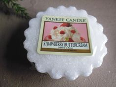 Strawberry Buttercream   Yankee Candle Tart