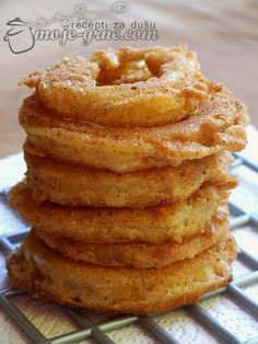Onion rings, Onions and Onion rings recipe on Pinterest