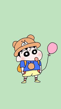 Sinchan Wallpaper, Iphone Wallpaper Glitter, Cute Panda Wallpaper, Drawing Wallpaper, Cartoon Wallpaper Iphone, Kawaii Wallpaper, Sinchan Cartoon, Doraemon Cartoon, Panda Wallpapers