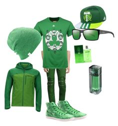 """""""St. Patrick's day"""" by jordanmoldenhauer on Polyvore featuring God's Masterful Children, Marmot, Majestic, Unstitched Utilities, Coal, adidas, Smith, Shanghai Tang, Joop! and men's fashion"""