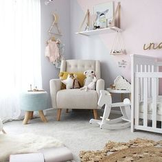 Such a beautiful nursery space featuring our Lucky Boy Sunday dolls. We just love the quirky element these bring to a kids room. We have all your faves available now at the link in our bio. Pastel Nursery, Baby Girl Nursery Decor, Baby Bedroom, Baby Room Decor, Girls Bedroom, Nursery Design, Nursery Ideas, Bedroom Ideas, Nursery Inspiration