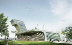 Saemangum Exhibition Center / poly.m.ur (2)
